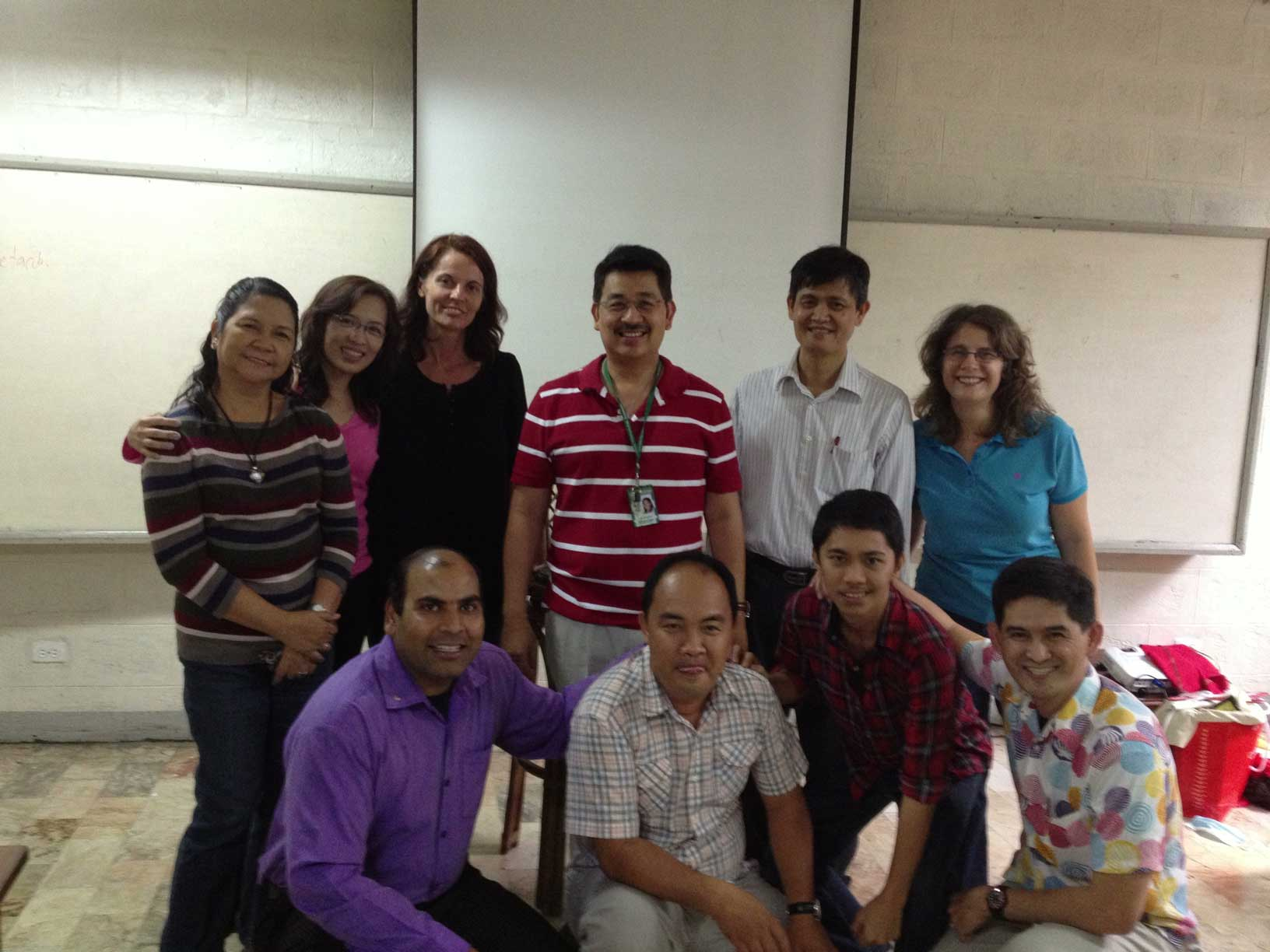 Small Group Presentations (Asian Theological Seminary Nouwen Class) - Feb. 1
