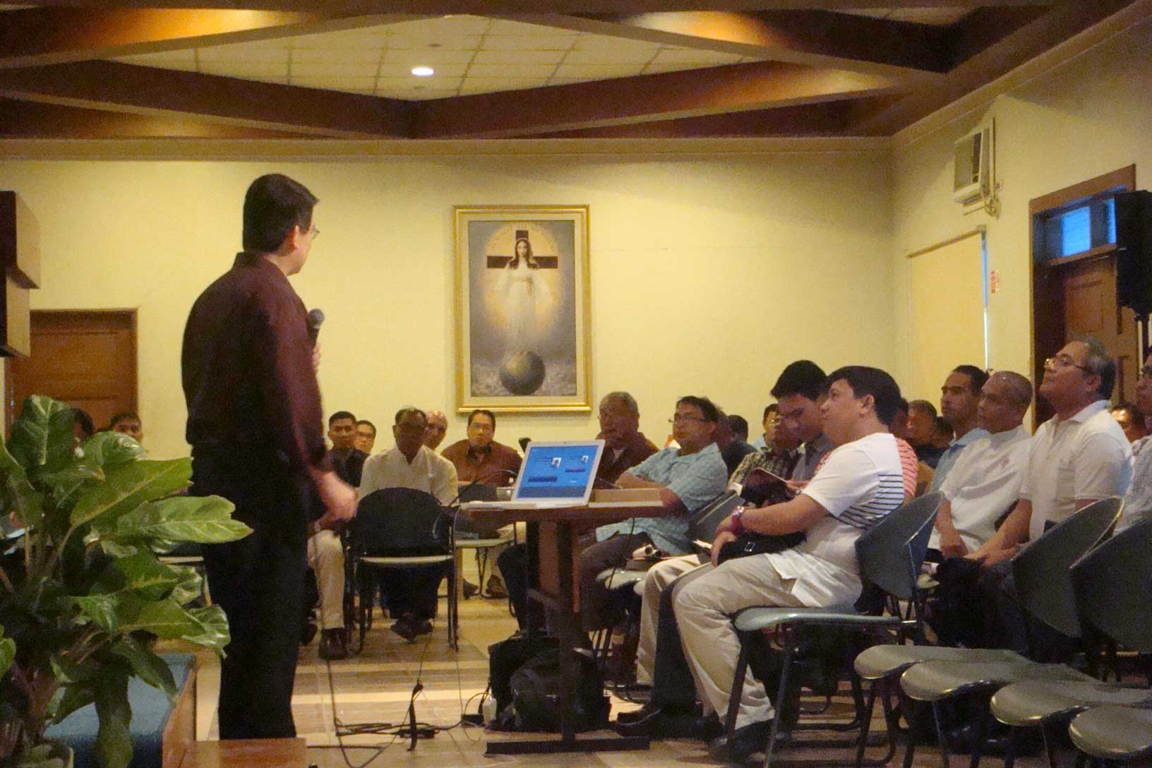 Clergy Day of Recollection Presentation on Nouwen (Archbishop's Palace, Jaro, Iloilo) - Feb. 3