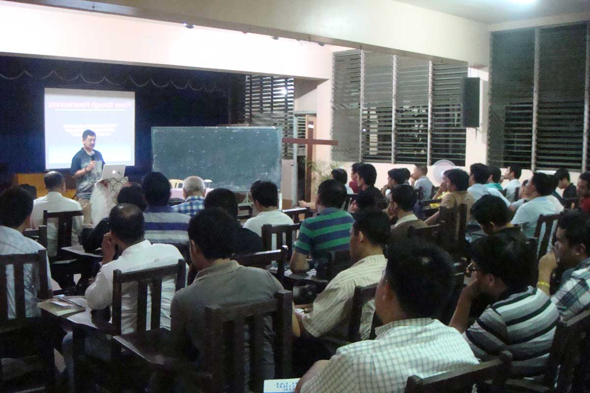 Conference Presentation on Nouwen (St. Joseph Regional Seminary, Jaro, Iloilo) - Feb. 4